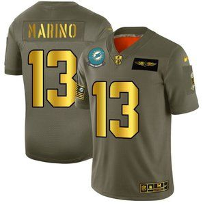 Dolphins Dan Marino Gold 2019 Salute to Service Je